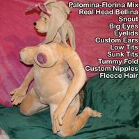 Valentina Girl Sex Doll with Snout option