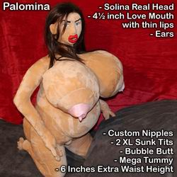 Valentina Girl Sex Doll with Ears option