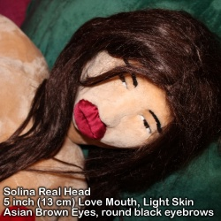 Valentina Girl Sex Doll with Love Mouth for Real Head option