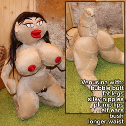 Valentina Girl Sex Doll with Fat Legs option