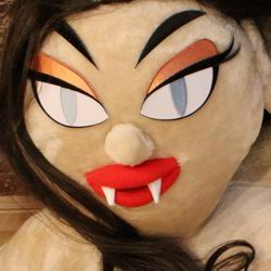 Valentina Girl Sex Doll with Fangs option