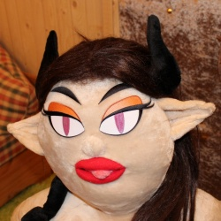 Valentina Girl Sex Doll with Horns option