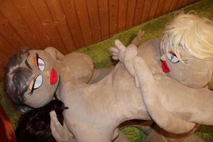 Triple Cowgirl Sex Position